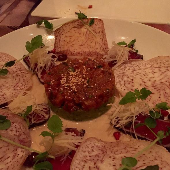 Sashimi of Charred Tuna & Spicy Tartare @ Lee