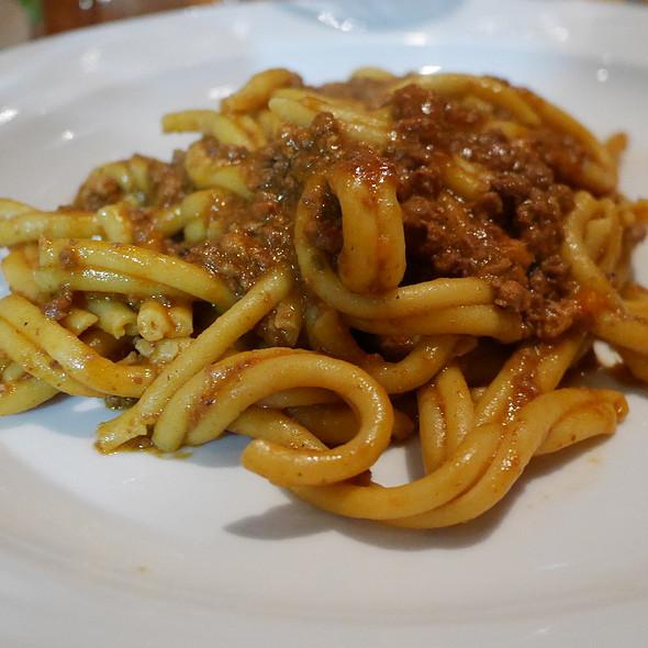 Pasta with Game Bolognese @ La Ruchetta