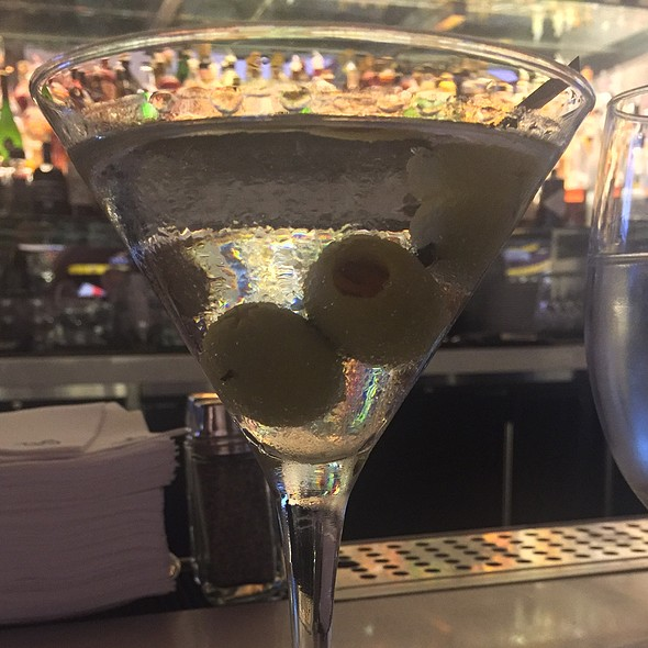 Tito's Vodka Martini @ Mastro's Ocean Club