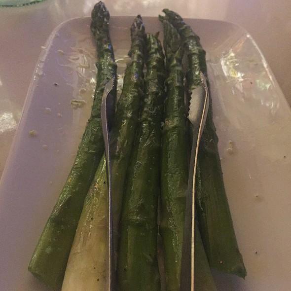 Steamed Asparagus @ Mastro's Ocean Club
