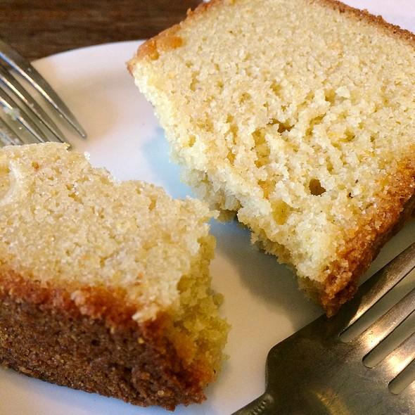 Lemon Cornmeal Cake @ Bittersweet: The Chocolate Cafe