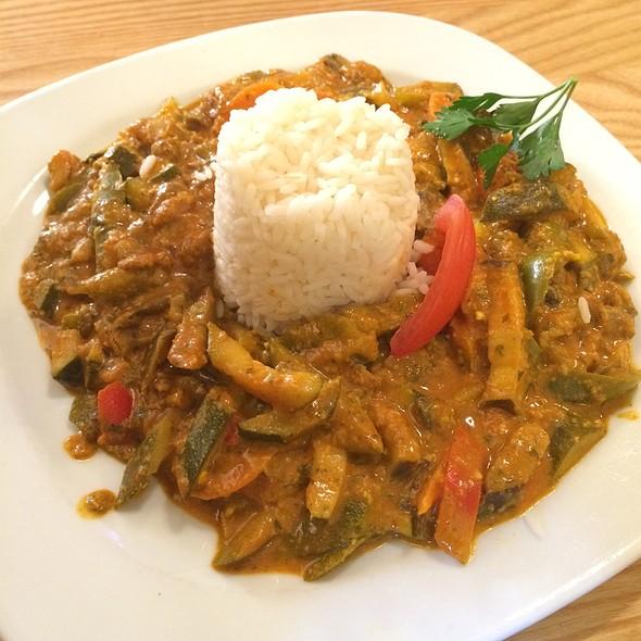 Vegetable Curry With Rice @ Braugasthof Fabrik