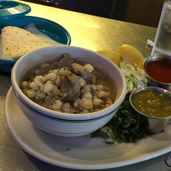 Posole @ The Plaza Cafe