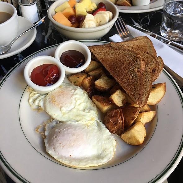 Eggs With Potatos And Bread - Cafe de la Presse, San Francisco, CA