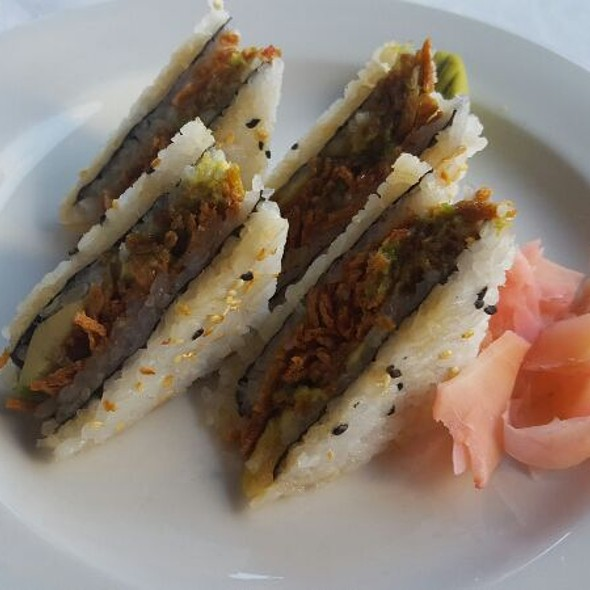 Crispy Crab Fashion Sandwiches @ Kream