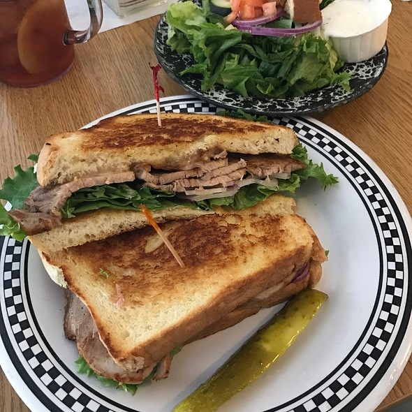 Grilled Pork Loin Sandwich @ Country Folks Deli