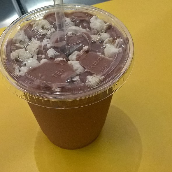 Chocolate Malt Milkshake @ Little Baby's Ice Cream