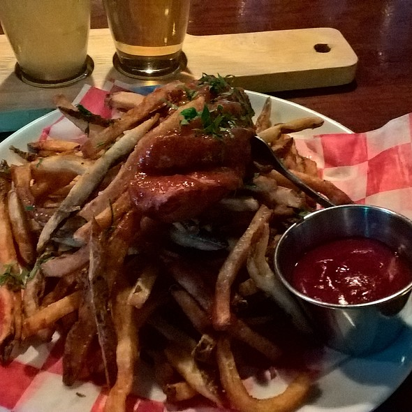 Currywurst And Fries @ Standard Tap