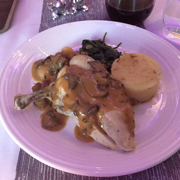 Lemon And Thyme Chicken Breast @ Virgin Atlantic Airlines