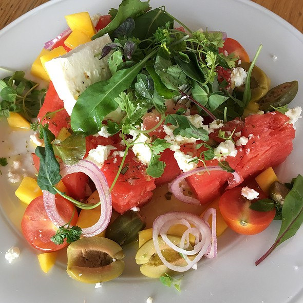 Watermelon Feta Mango Salad @ Industry Kitchen