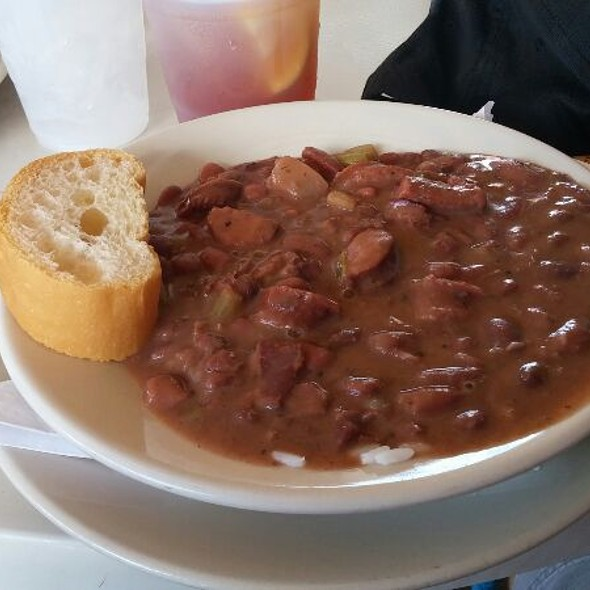 Red Beans and Rice with Sausage @ Original French Market Restaurant