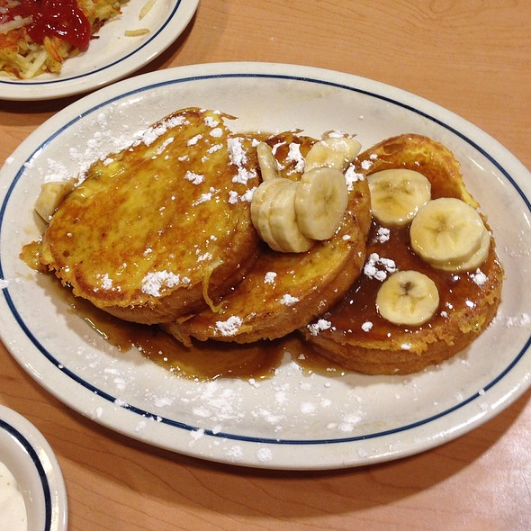 Bananas Foster  French Toast @ Ihop