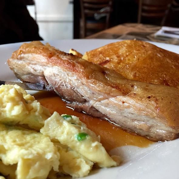 Maple Glazed Pork Belly @ Americana