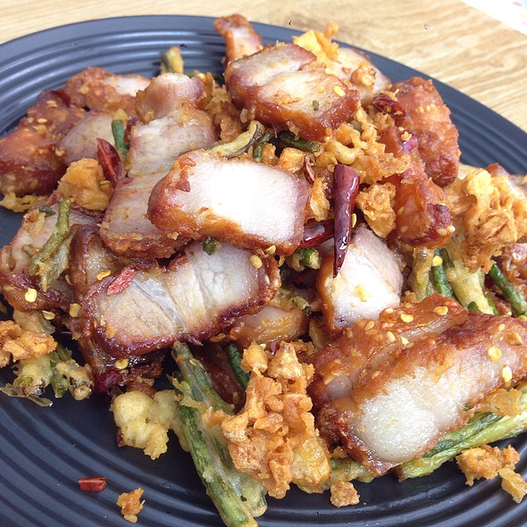 Salt And Pepper Pork Belly With Perfect Crispy