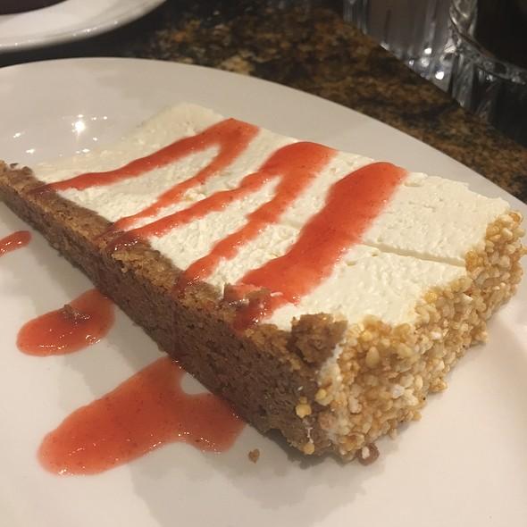 Strawberry Cheesecake - Del Frisco's Double Eagle Steak House - Philadelphia, Philadelphia, PA