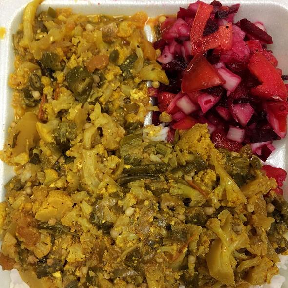 Vegetable Korma @ Mykalki Lunch Wagon
