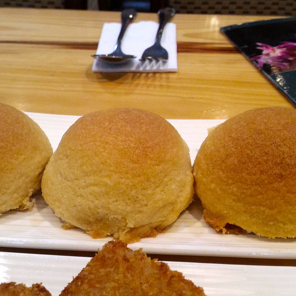 Baked Barbecued Pork Buns @ The Dimsum Place