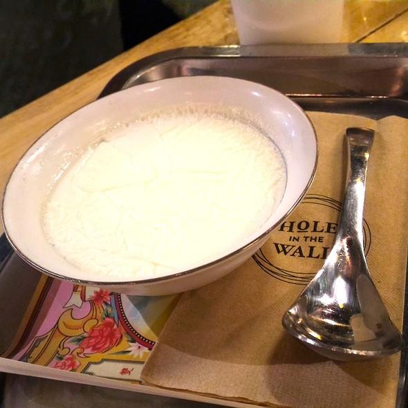 Plain Steamed Milk - White @ Milk Trade