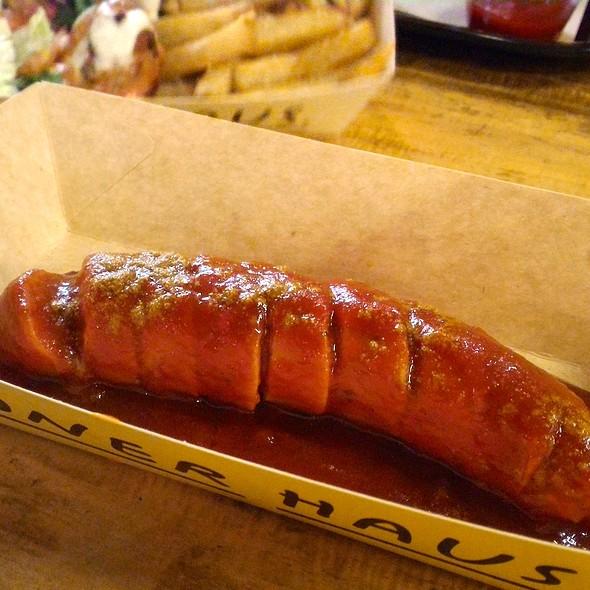 Curry Sausage @ Döner Haus