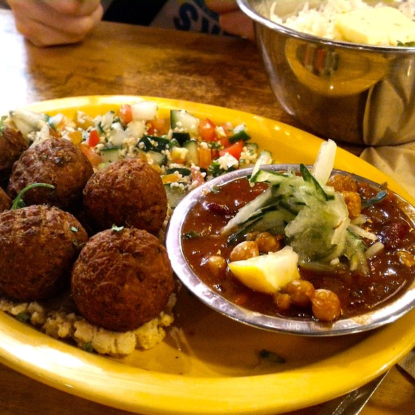 Falafel With Rice @ Döner Haus