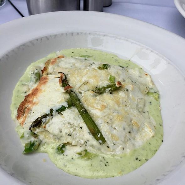 Pesto Lasagne - Freds Chicago at Barneys New York, Chicago, IL