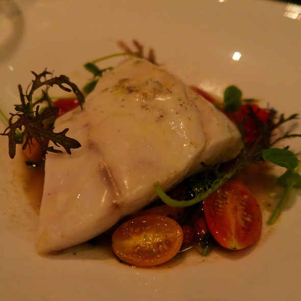 Stone Bass With Baby Artichokes, Cranberry Beans, Tomatoes, And Pistou Broth - Sepia, Chicago, IL