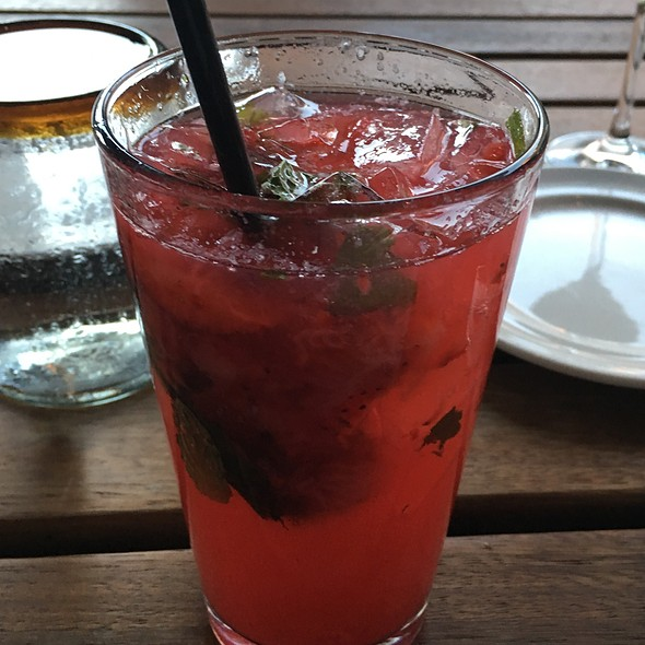 Strawberry Hibiscus Mojito - JW Marriott San Antonio - Cibolo Moon, San Antonio, TX