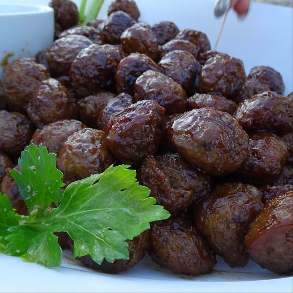 Asian Meatballs @ Maleny Retreat