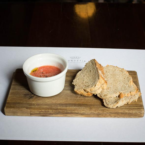 Bread And Dip @ Restaurante Donostia