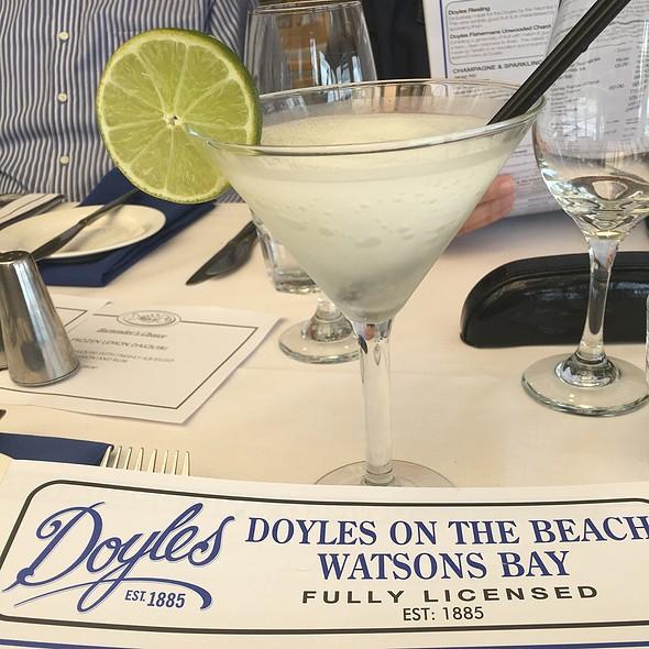 Frozen Lemon Daiquiri @ Doyles on the Beach Restaurant