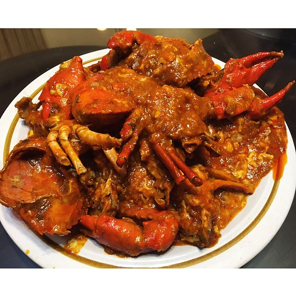 Chili Mud Crabs @ HAFH