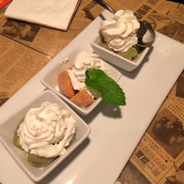 Green Tea Ice Cream In Mochi Rice Ball