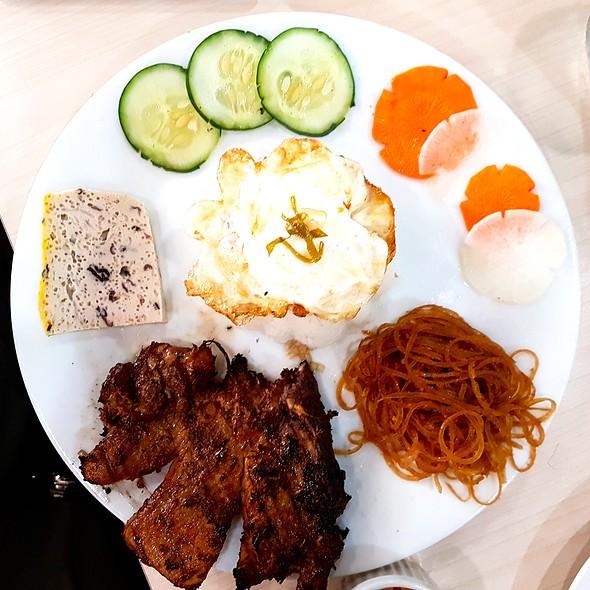 Grilled Porkchop Rice @ Trà Vinh Authentic Vietnamese Noodles