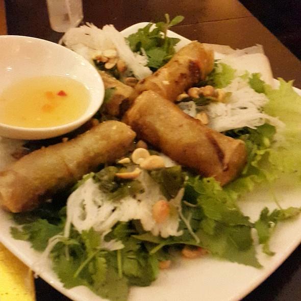 'Roll it' Shrimp Mousse on Sugarcane Skewers