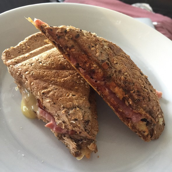 Ham And Cheese Jaffle @ Chookys