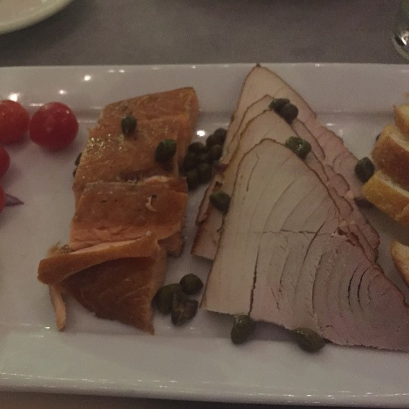 Smoked Salmon & Albacore @ Bluewater Grill