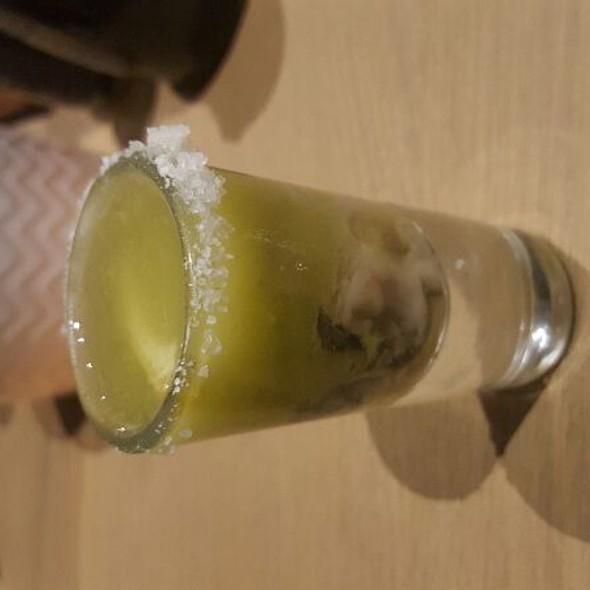 Vodka Oyster Shot @ Wasabi