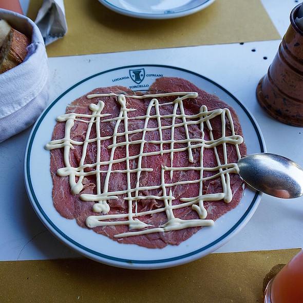 Beef Tartare @ Locanda Cipriani