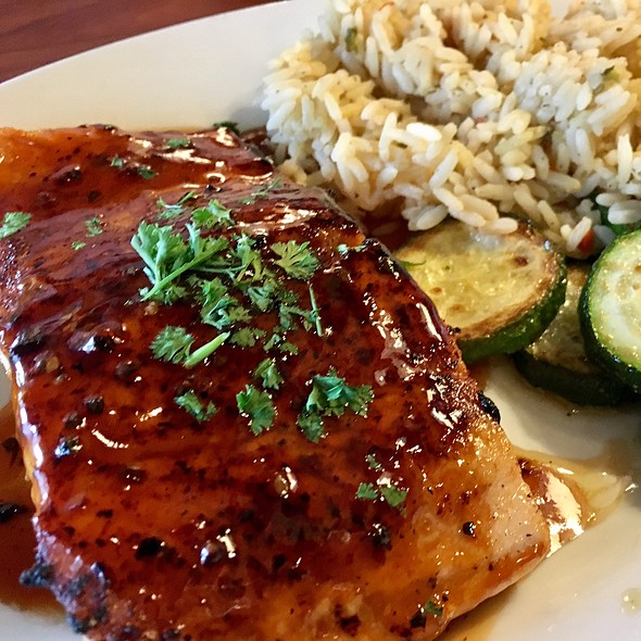 Hickory Bourbon Salmon
