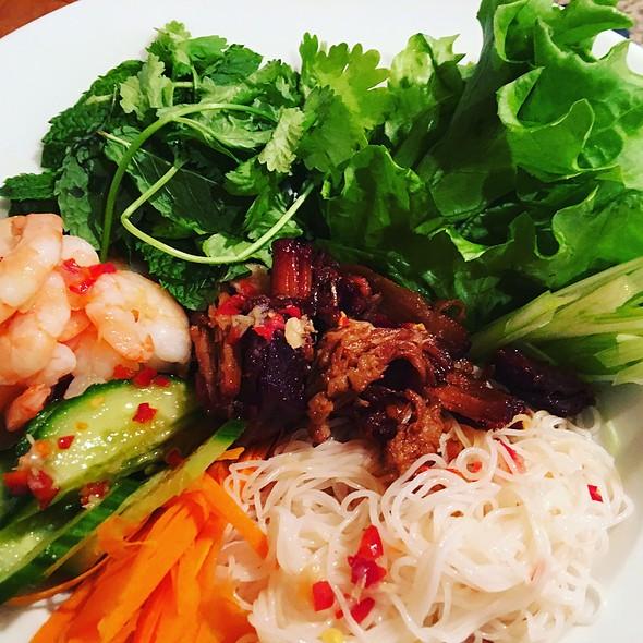 Pork Belly Bun Cha