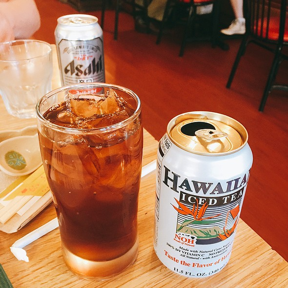 Hawaiian Iced Tea @ Shoki Ramen House