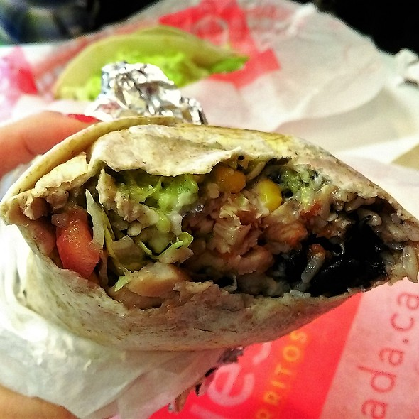 Flamed-Grilled Chicken Burritos