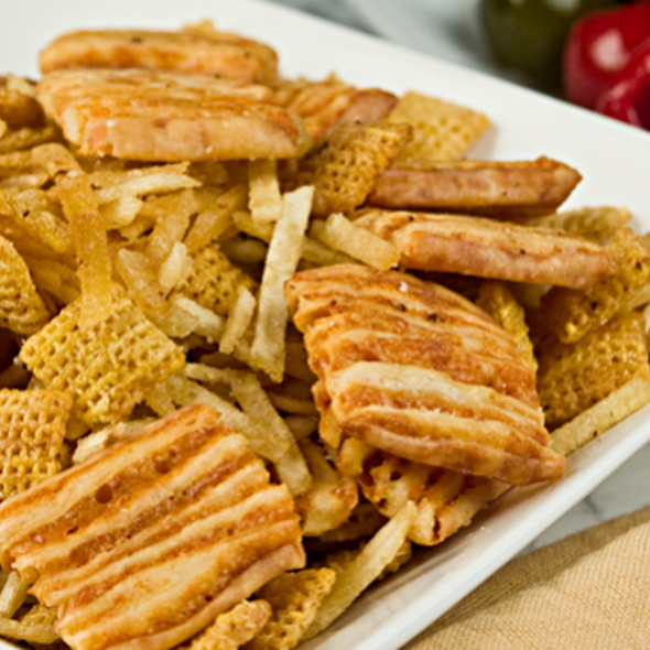 Smoky 'n Cheesy Tuscan Party Mix
