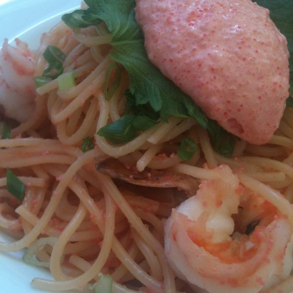 Mentaiko Pasta @ Kitchen Wagyu En