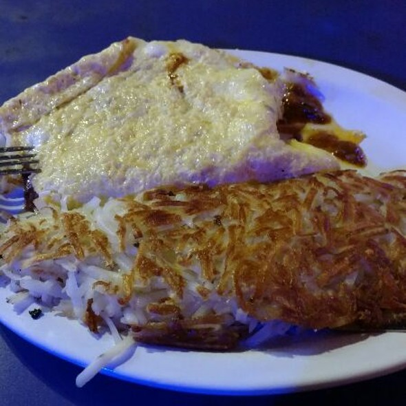 The Robin Williams (Chili& Cheese Omelette) @ The Roxy