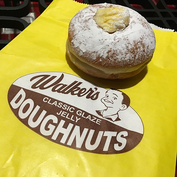 Custard Donut @ Walker's Doughnuts