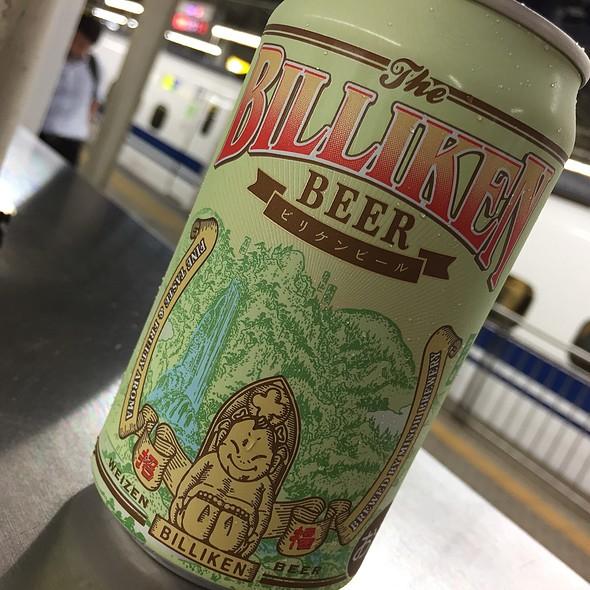 箕面ビール ビリケンビール @ 新大阪駅