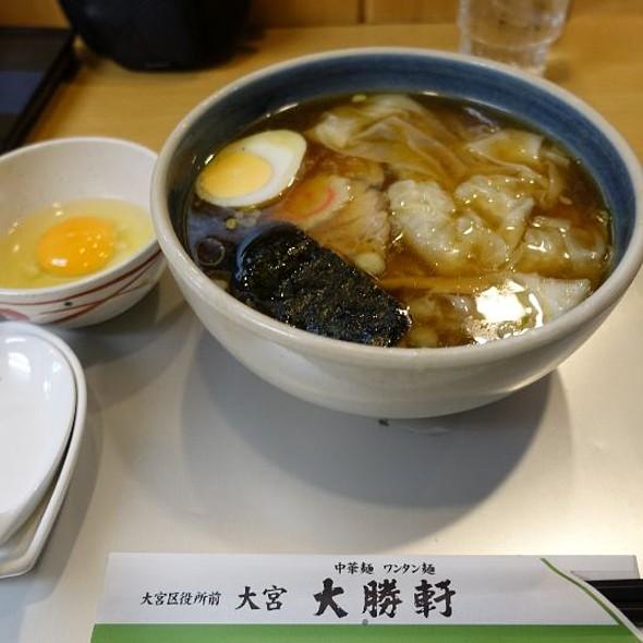 小 ワンタン麺 @ 大宮大勝軒