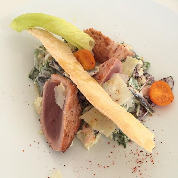 Cesar Salad With Tuna @ Le Plongeoir