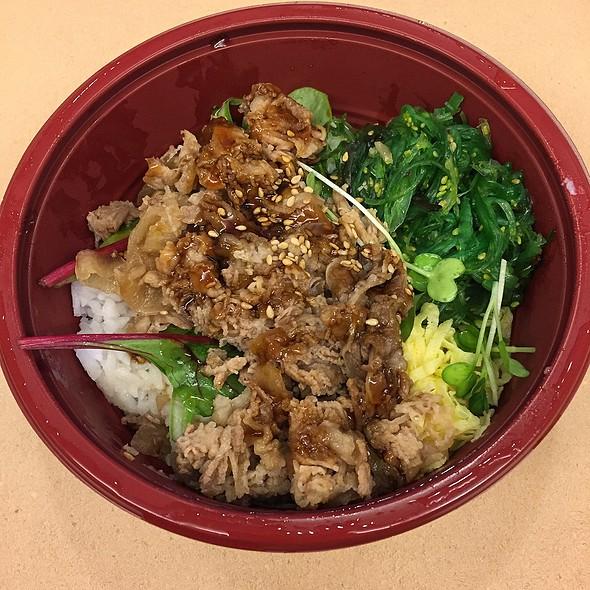 Beef Bowl (Gyu-Don)